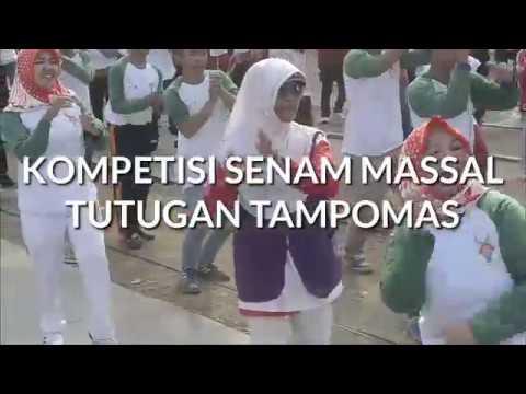 Senam Massal Tutugan Tampomas Sambut Asian Games 2018 II RUBER PRIANGAN