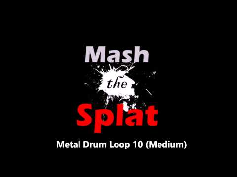 Metal Drum Loop 10 (Medium)