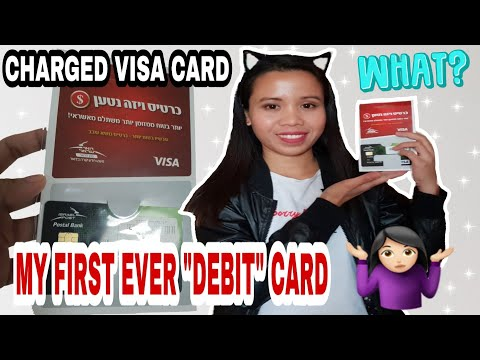 CAREGIVER IN ISRAEL - PAANO MAG-AVAIL NG CHARGED VISA CARD SA POSTAL BANK IN ISRAEL