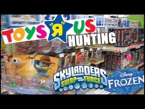 TOYS R US HUNTING : Disney Infinity, Skylanders, Frozen, Minions Etc.