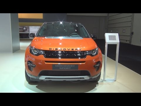 Land Rover Discovery Sport 2.0 Si4 Phoenix Orange (2015) Exterior and Interior in 3D