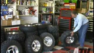 ATV Television Tech - All About ATV Tires