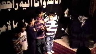 Safar 15 1432 - Kids Noha in English - Who is this girl in Karbala she looks like Sakina AS