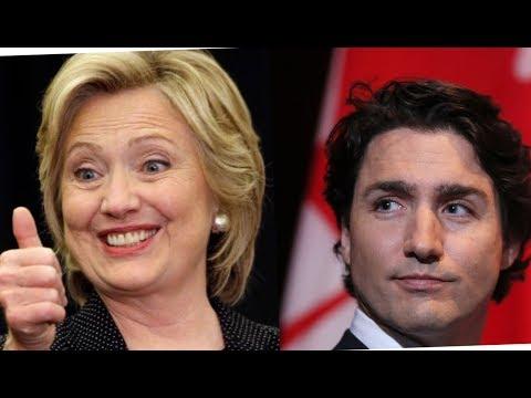 Clinton Foundation Steals $20 Million Dollars of Canadian Tax Money, Thanks Trudeau