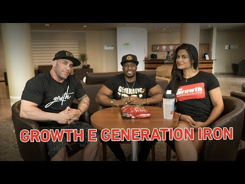 TEAM GROWTH VAI PARTICIPAR DO GENERATION IRON   SANTISTEBAN E ARETHA