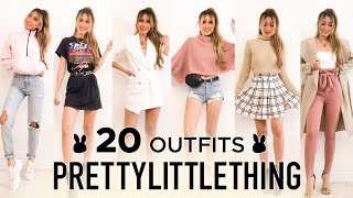 20 PRETTY LITTLE THING outfits | Fall Try-on haul & Review ft. Jolimall