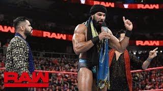 Kurt Angle vs. Jinder Mahal: Raw, Feb. 25, 2019