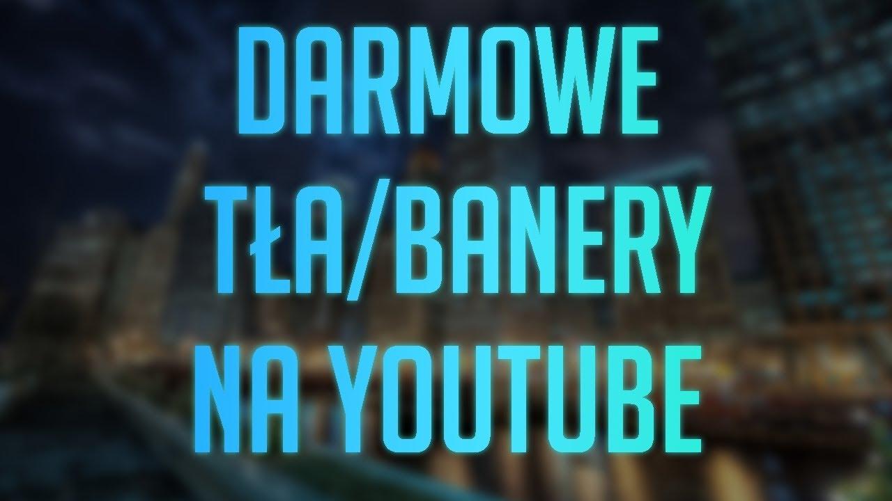 30 Darmowych Banerów Youtube Szablony30 Free Youtube Banner