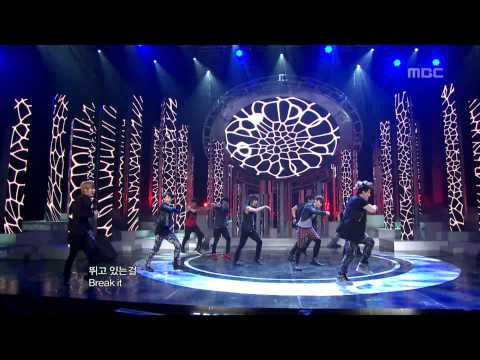 Super Junior - Bonamana, 슈퍼주니어 - 미인아, Music Core 20100612