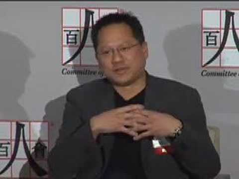 Saturday's Panel: A Conversation with Jen-Hsun Huang (1/7)