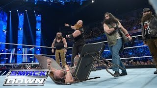 The Dudley Boyz vs. Brawn Strowman & Erick Rowan: SmackDown, November 26, 2015