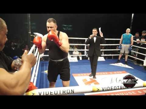 Joel Thériault vs Max Laflamme A Sorel 20 Mai 2016