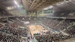 Panathinaikos vs Fenerbahce: OAKA Timelapse - 18.04.2017 [4K]