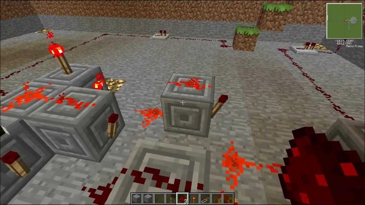Minecraft Tutorials How To Make A 2 Lever Piston Door YouTube - 2 Way Switch Minecraft