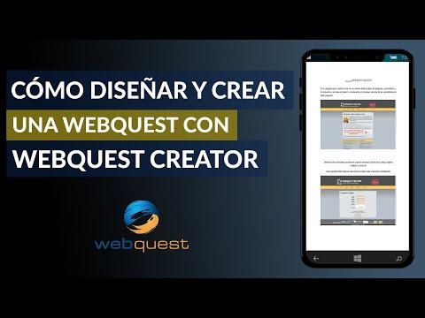 Cómo Hacer, Diseñar y Crear una WebQuest con WebQuest Creator