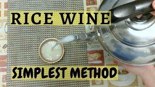 "How to make rice wine, easy steps to Newari Rice wine 米酒 ""CHHYANG"" | Newari KhajaGhar |"