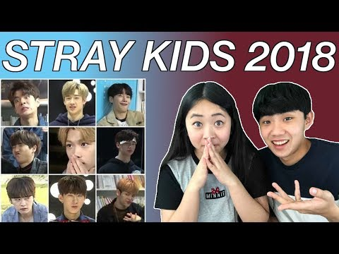Couple Reacts To: STRAY KIDS Being A Mess In 2018 Reaction