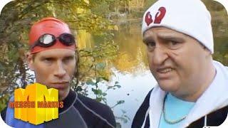 Sven Dudek und der Schwimmer