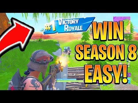 How to Win FIRST GAME in Season 8 Fortnite! Season 8 Best Tips and Tricks! (Fortnite Battle Royale)
