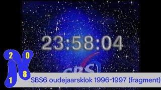 SBS6 oudejaarsklok 1996-1997 (fragment)