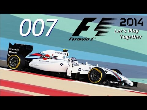 F1 2014 | Co-op | #007 Bahrain/Training | Let's Play Together [HD]