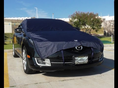 Funda para autos california premium car cover doovi - Parasol coche cars ...