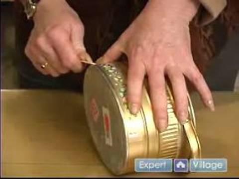 How To Make Unique Handmade Arts Crafts Handmade Tin Can Craft