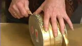 How to Make Unique Handmade Arts & Crafts : Handmade Tin Can Craft Project