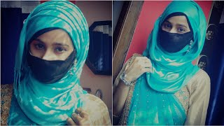 How to style hijab with saree  2021 || 3 different hijab style || Er. Eram Anwar