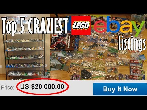 Top 5 CRAZIEST LEGO Ebay Listings! (REAL!)