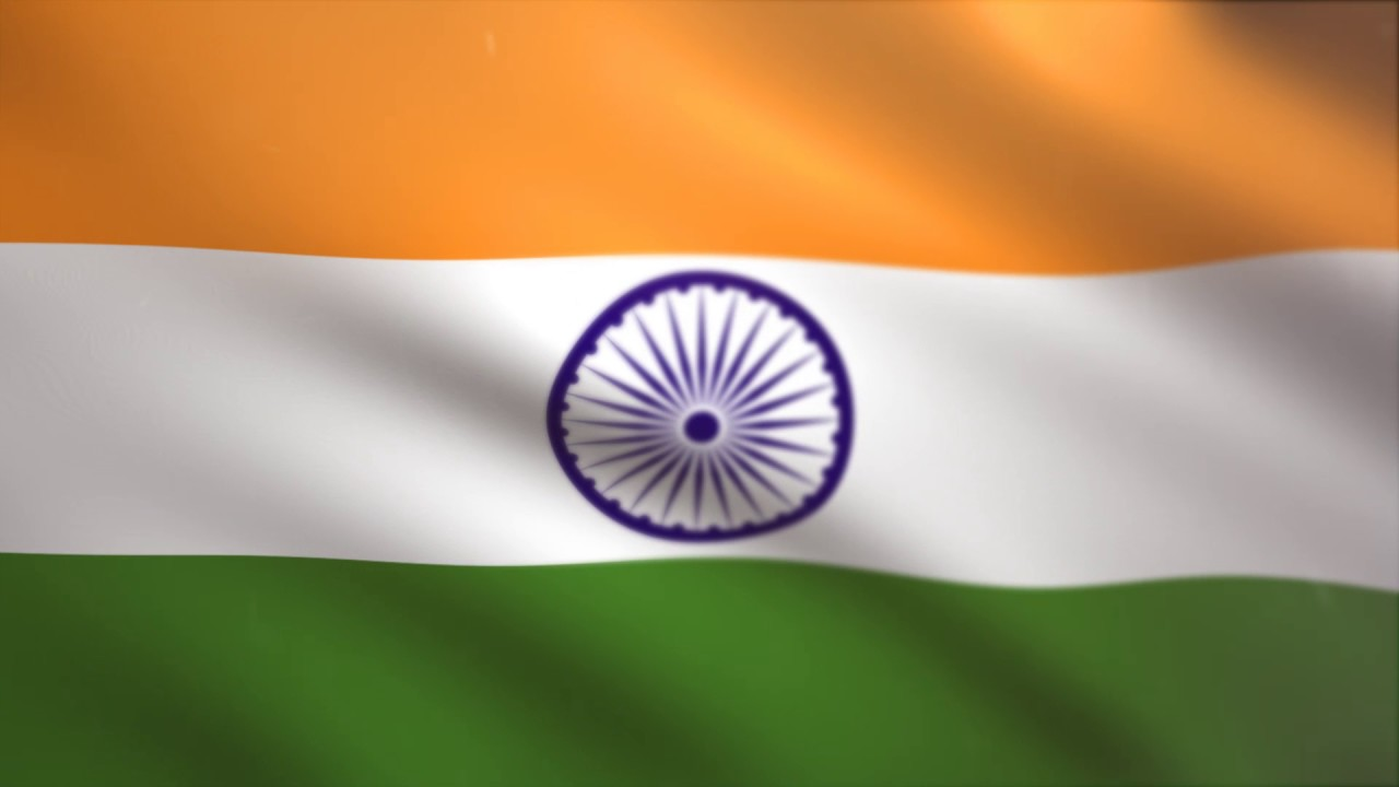 Indian Flag Animated: Indian Flag Waving Animated Using MIR Plug In After