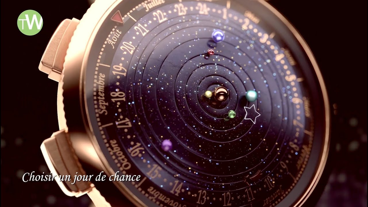 Van Cleef Amp Arpels Launches A Wristwatch Planetarium At