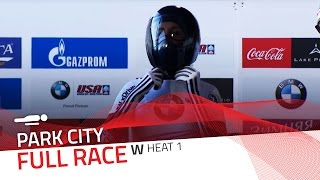 Park City | BMW IBSF World Cup 2015/2016 - Women's Skeleton Heat 1 | IBSF Official