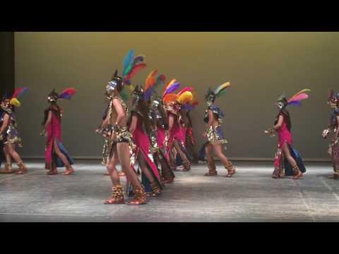 Danza de Concheros ESMDM 2016