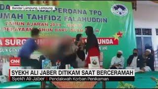 Detik-detik Syekh Ali Jaber Ditikam Saat Berceramah