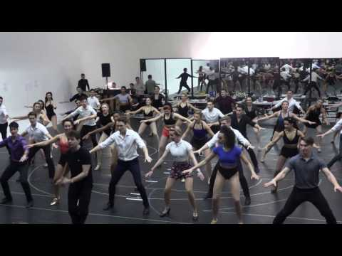 42ND STREET  London rehearsals  Audition dance