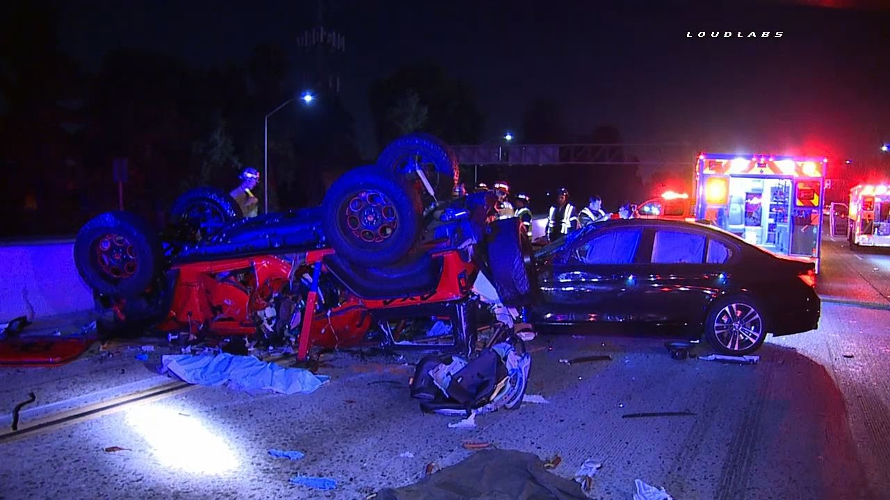 91 Freeway Triple Fatal Accident GRAPHIC Artesia RAW
