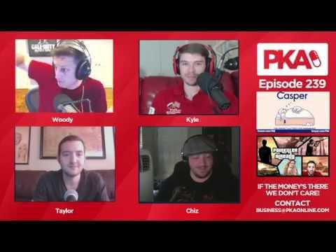 PKA 239 - Woody's Head Injury, Lighting Round, Dog Murder
