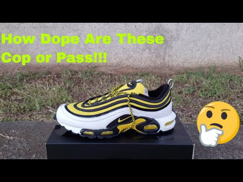 Nike Air Max Plus 97 Frequency Pack Youtube