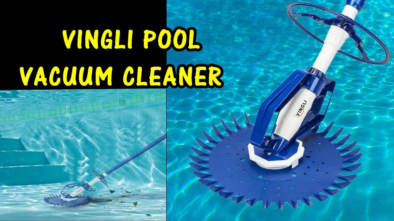 Vingli Pool Vacuum Cleaner Review Swimming Pool Creepy Crawler Vacuum Youtube
