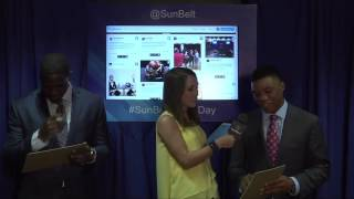 Sun Belt Media Day Social Suite: Arkansas State Student Atheltes
