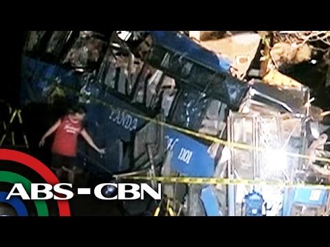 TV Patrol: 14 patay sa pagsalpok ng tourist bus sa poste sa Tanay