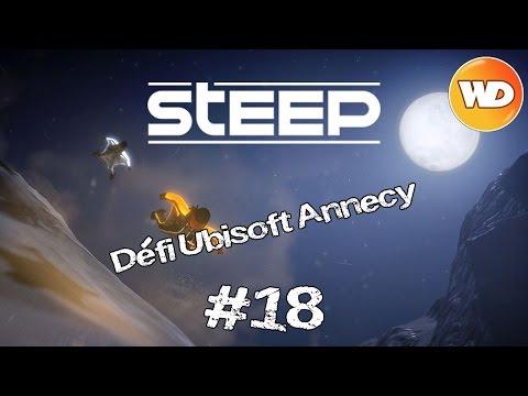 STEEP #18 - FR : 63 184 points au défi Wingsuit d'Ubisoft Annecy. Mont Blanc.