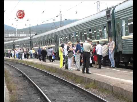 Новое расписание поезда на Ковдор