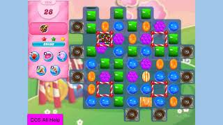 Candy Crush Saga Level 3256 in 6 moves NO BOOSTERS Cookie