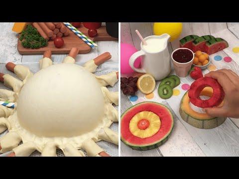 fun-recipes-for-kids-🥳-chefclub-zoo-🐶-fruity-bunny-🐇-barbie-cake-👸