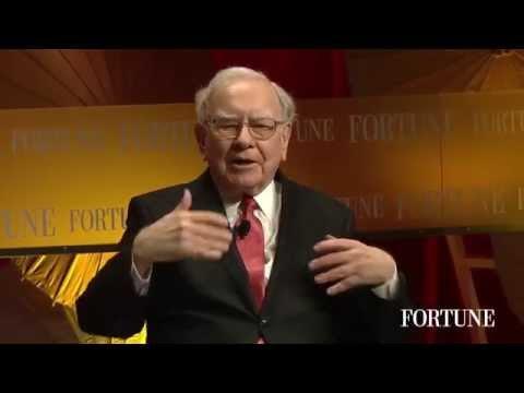 Warren Buffett's Interview at Fortune Most Powerful Women Part 1
