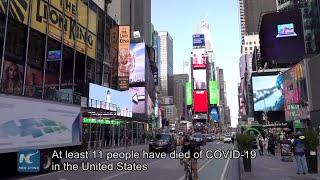 VOX POP: How people on New York streets view coronavirus spread?