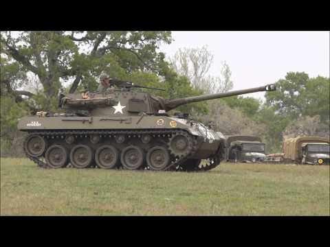 WW2 Battle Reenactment - Museum Of The American GI 1080P
