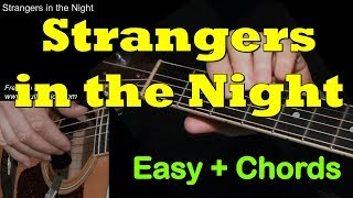 Frank Sinatra - Strangers In The Night: Easy Guitar Cover + TAB by GuitarNick